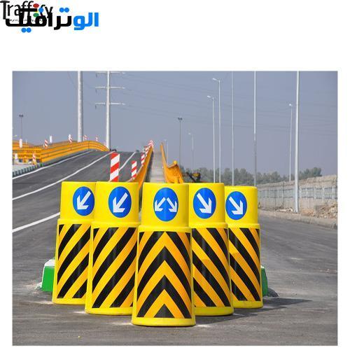 بشکه ترافیکی ۸۵ سانتی متر | بشکه ایمنی
