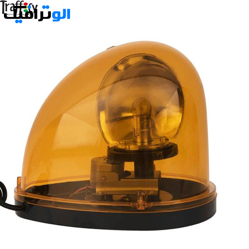 چراغ گردان فندکی مگنتی | چراغ پلیسی فندکی بدون آژیر